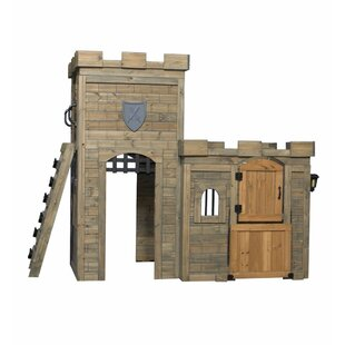 Price comparison Windsor Castle 8.34' x 4.02' Playhouse By Backyard Discovery