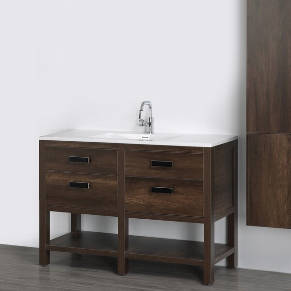 47 Single Bathroom Vanity Set by Streamline Bath