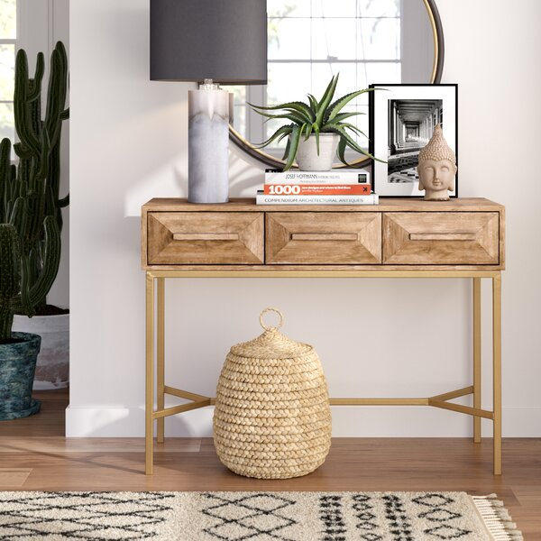 Darrius Console Table with Legs by Mistana