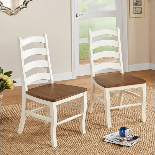 Mack Solid Wood Dining Chair (Set of 2) by Ophelia & Co.