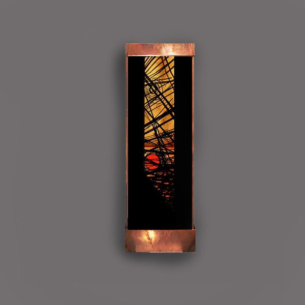 Copper and Acrylic Nexus Galaxy Fountain with Light by Harvey Gallery