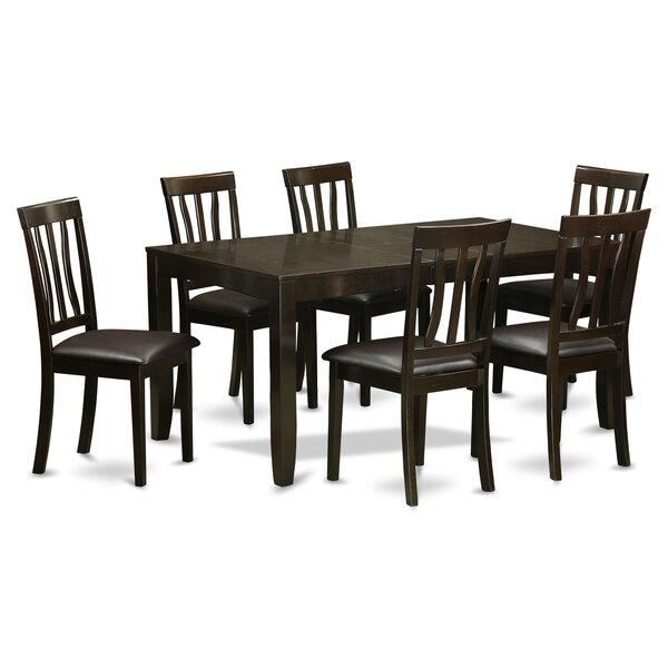 Lockmoor 7 Piece Dining Set by Red Barrel Studio