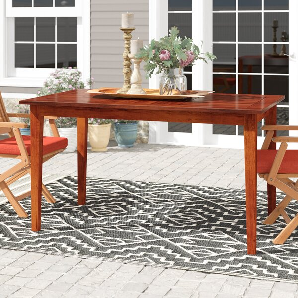 Calderon Solid Wood Dining Table by Mistana