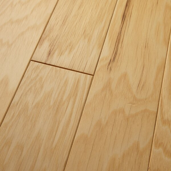 Americano 3 Engineered Hickory Hardwood Flooring in Natural by Welles Hardwood