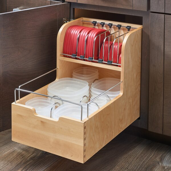 Food Storage Pull Out Drawer by Rev-A-Shelf