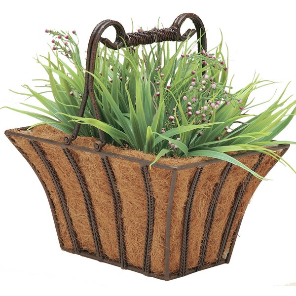 Rectangular Twist Planter Box by Deer Park Ironworks