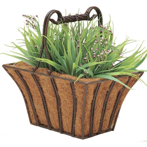 Rectangular Twist Planter Box by Deer Park Ironworks
