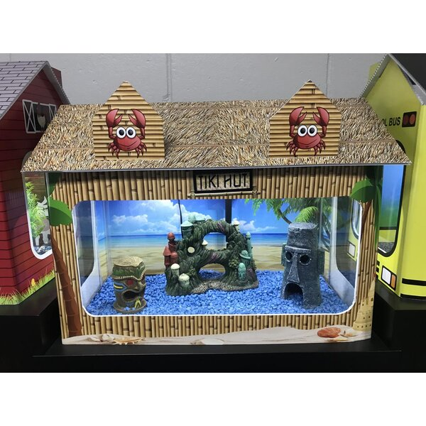 10 Gallon Tiki Hut Aquarium Tank Cover by RJ Enterprises
