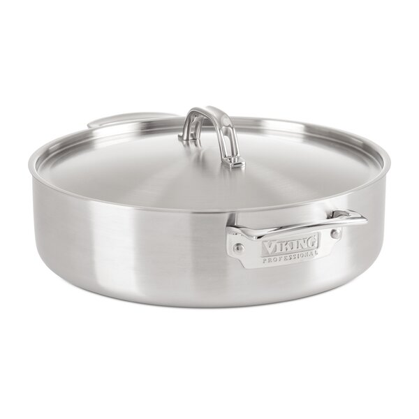 Professional Professional 5-Ply Collection 5-Ply Stainless Steel Round Casserole by Viking