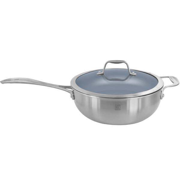 Spirit 10 Non-Stick Specialty Pan with Lid by Zwilling JA Henckels