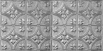 Victorian 2 Ft X 4 Ft Tin Plated Steel Tile By Chelsea Decorative Metal Co.