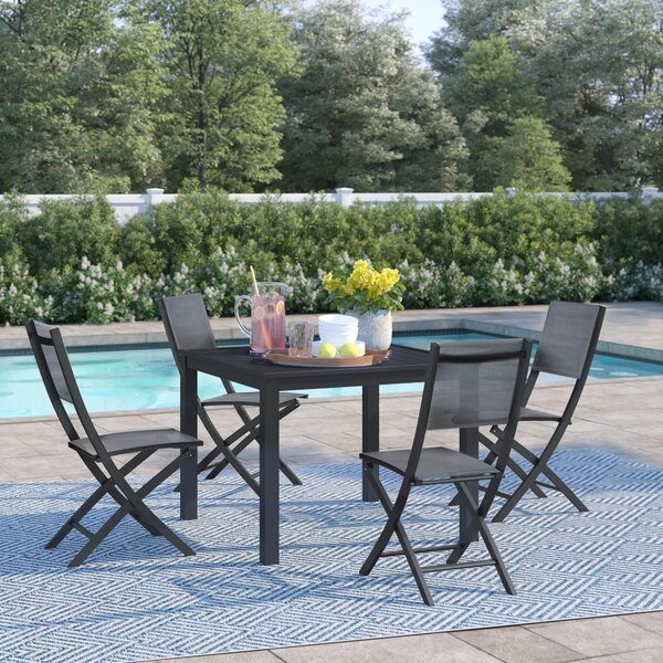 Ashwell 5 Piece Dining Set by Sol 72 Outdoor