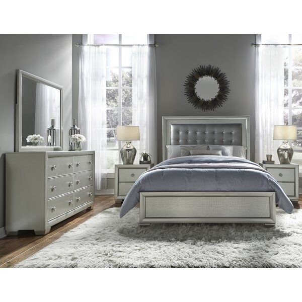Brinkworth 6 Drawer Double Dresser with Mirror by Willa Arlo Interiors