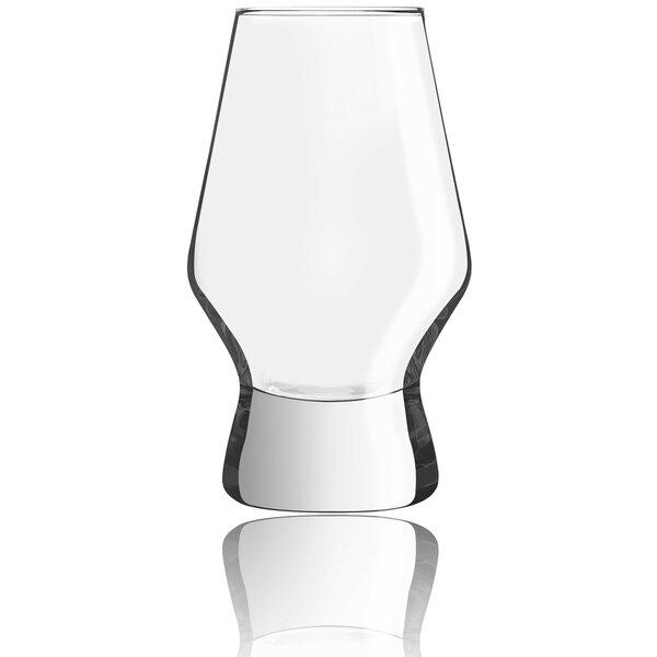 Halo Crystal 7.8 oz. Pint Glass (Set of 2) by JoyJolt