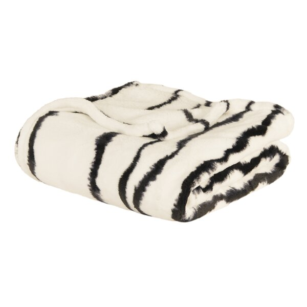 Connelly Loft Fleece Throw by Wrought Studio