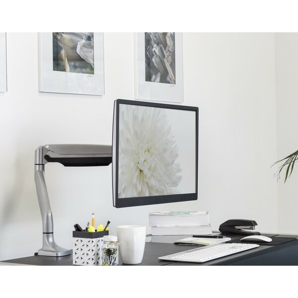 Monitor Height Adjustable Desk Mount by Mount-it