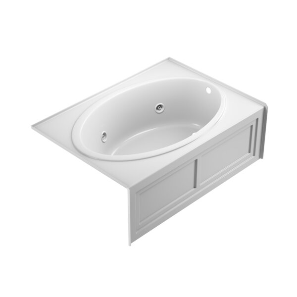 Nova Right-Hand Heater and Chroma 60 x 42 Skirted Whirlpool Bathtub by Jacuzzi®
