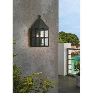 Compare prices Weathersby 3-Light Outdoor Wall Lantern By Gracie Oaks