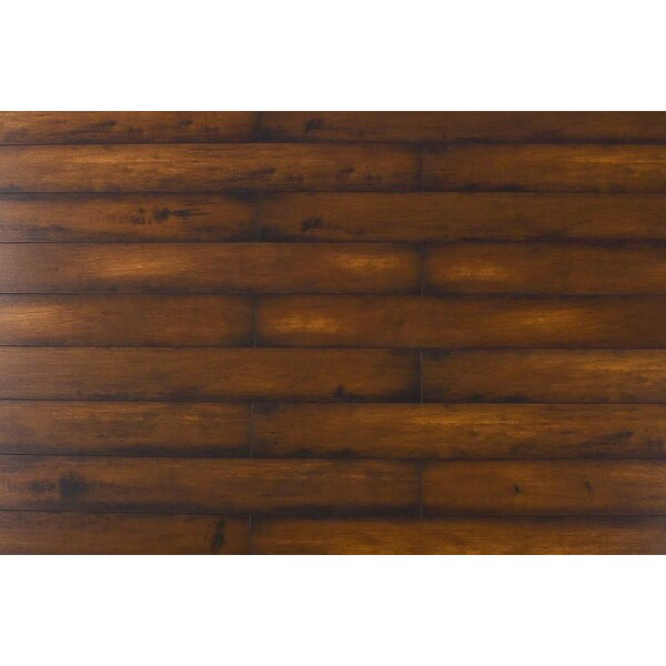Killian 5 x 48 x 12mm Walnut Laminate Flooring in Virginia by Serradon