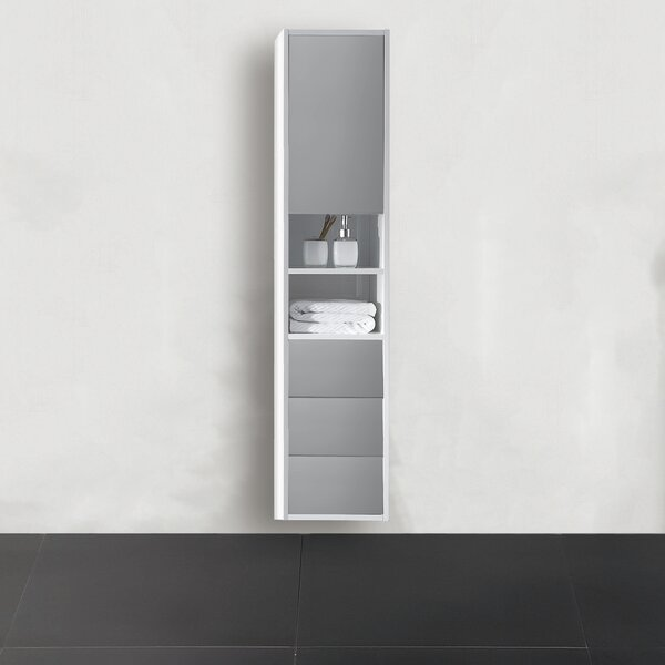 Donze 18.81 W x 55.12 H Wall Mounted Cabinet