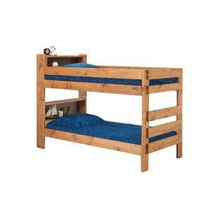 Blais Twin Bookcase Bunk Bed by Harriet Bee