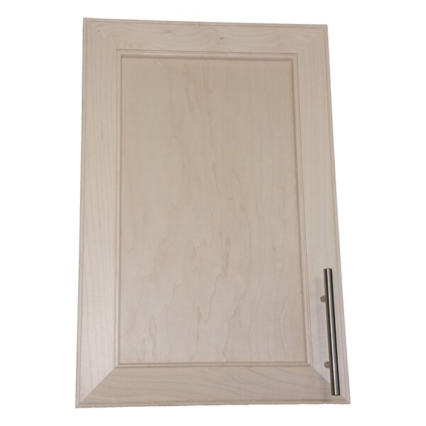 Village 15.5 W x 19.5 H Recessed Cabinet by WG Wood Products