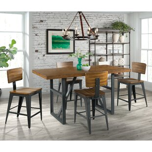 Best Price Keziah 5 Piece Counter Height Dining Set by 17 Stories