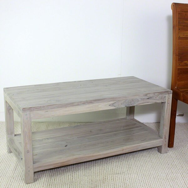Lawless Teak Coffee Table by Union Rustic