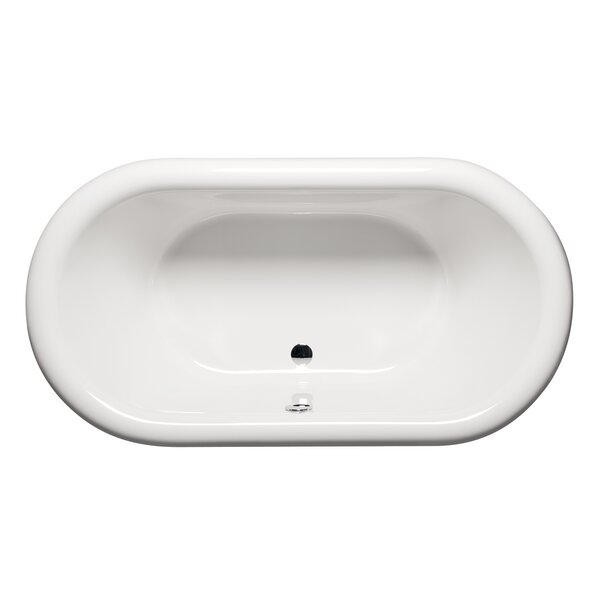 Rianna 71 x 35 Freestanding Soaking Bathtub by Americh