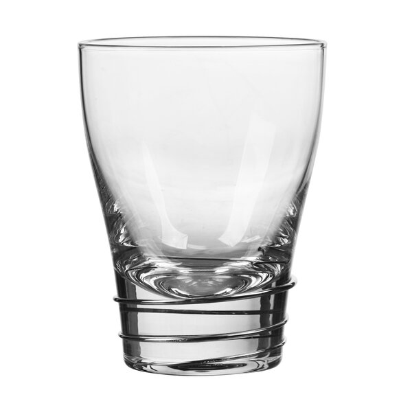 Helix 12 Oz. Double Old Fashioned Glass (Set of 4) by Qualia Glass