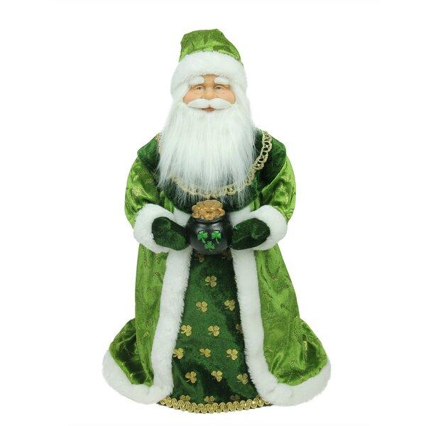 18 Christmas Santa Claus Tree Topper Hanging Figurine Ornament
