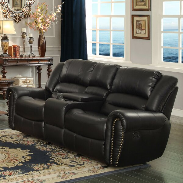 Caffey Power Reclining Sofa by Darby Home Co