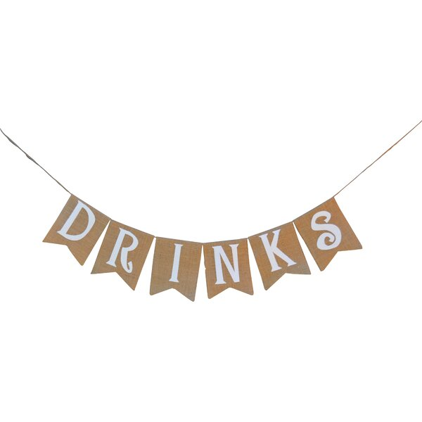 Drinks Banner by Rustic Chic Boutique