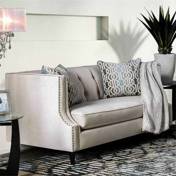 Shields Loveseat by Everly Quinn