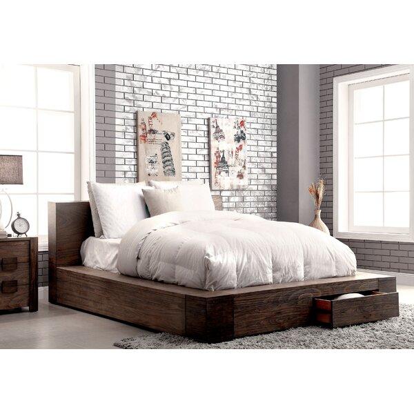 Arianna Solid Wood Storage Platform Bed by Trent Austin Design