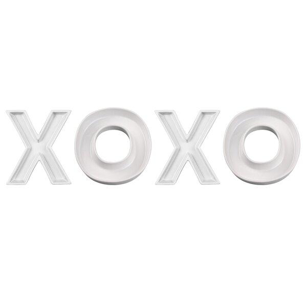 XOXO Candy Dish (Set of 4) by Ivy Lane Design