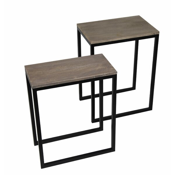 Copes 2 Piece Nesting Tables by Gracie Oaks