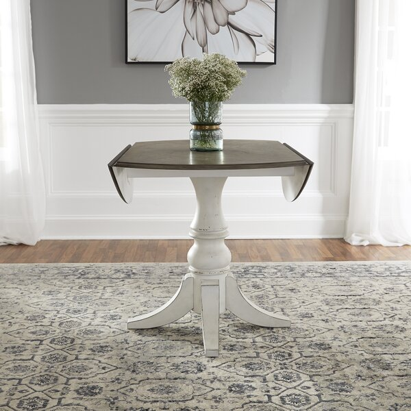 Tiphaine Drop Leaf Dining Table by Ophelia & Co.