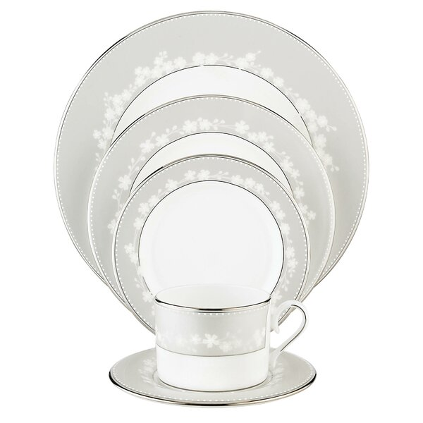 Bellina Bone China 5 Piece Place Setting Set, Service for 1 by Lenox