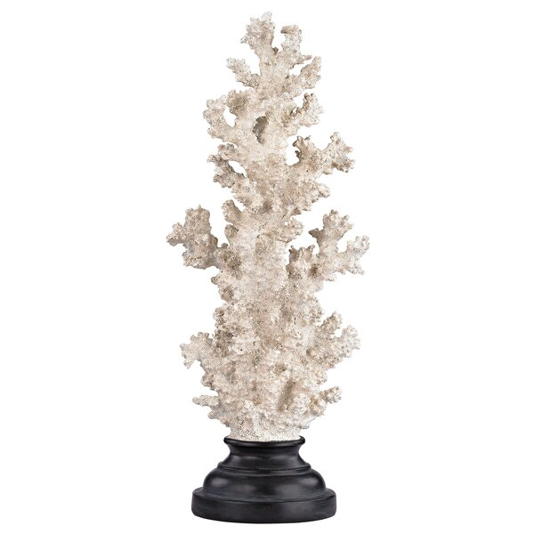 Birch Hill Coral on Stand Sculpture by Highland Dunes