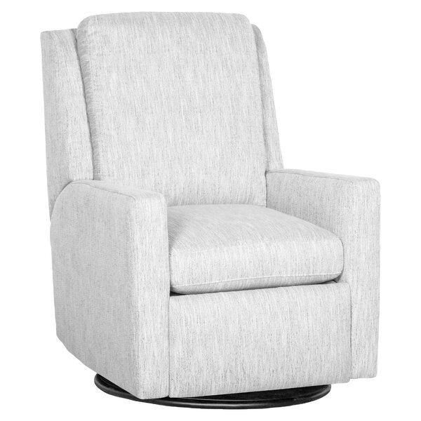 Track Leather Manual Recliner By Fairfield Chair