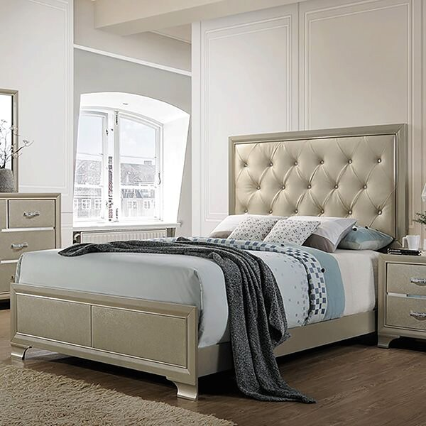 Pless Upholstered Storage Standard Bed by House of Hampton