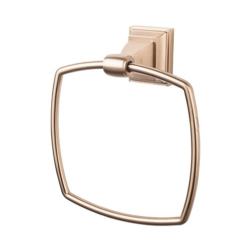 Stratton Bath Towel Ring by Top Knobs