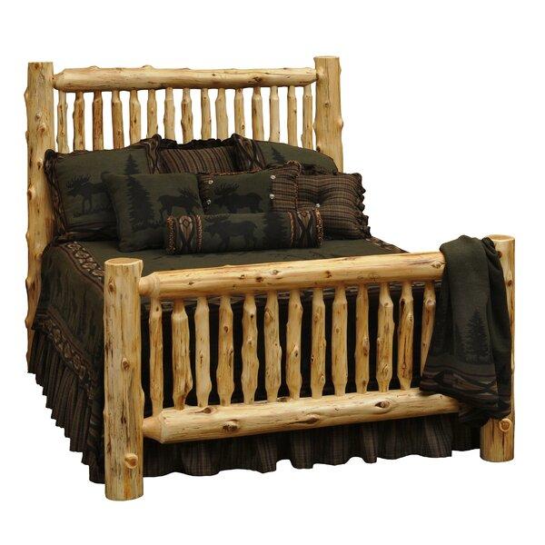 Traditional Cedar Log Standard Bed by Fireside Lodge