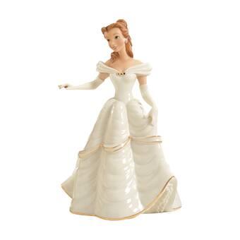 Lenox Disney S Beautiful Belle Figurine Reviews Wayfair