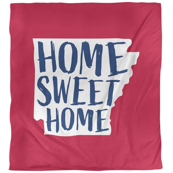 Home Sweet Arkansas Duvet Cover