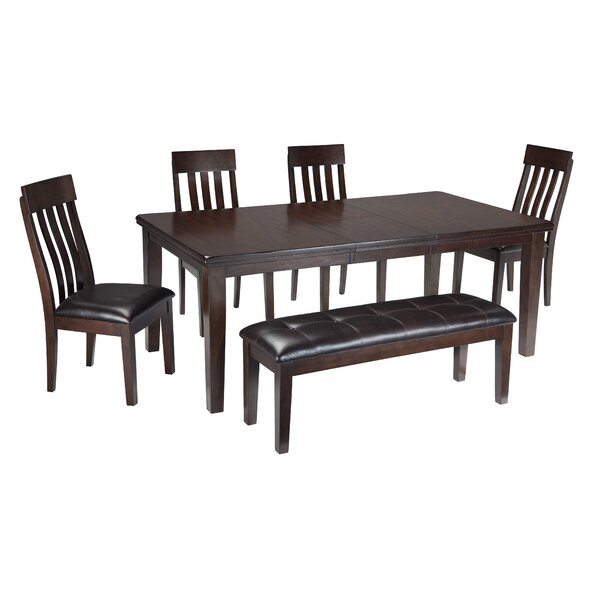 Bartons Bluff 6 Piece Dining Set by Red Barrel Studio Red Barrel Studio