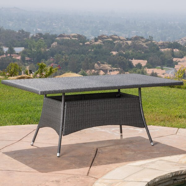Armitage Wicker Dining Table by Darby Home Co