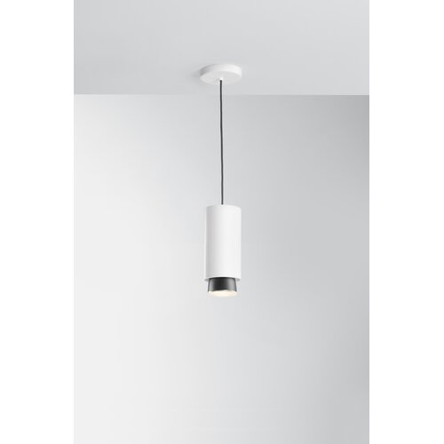 Claque 1-Light LED Single Pendant Fabbian Finish: White, Col