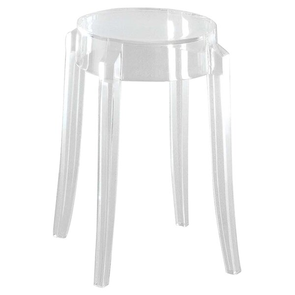 Charles 18 Patio Bar Stool (Set of 2) by Kartell